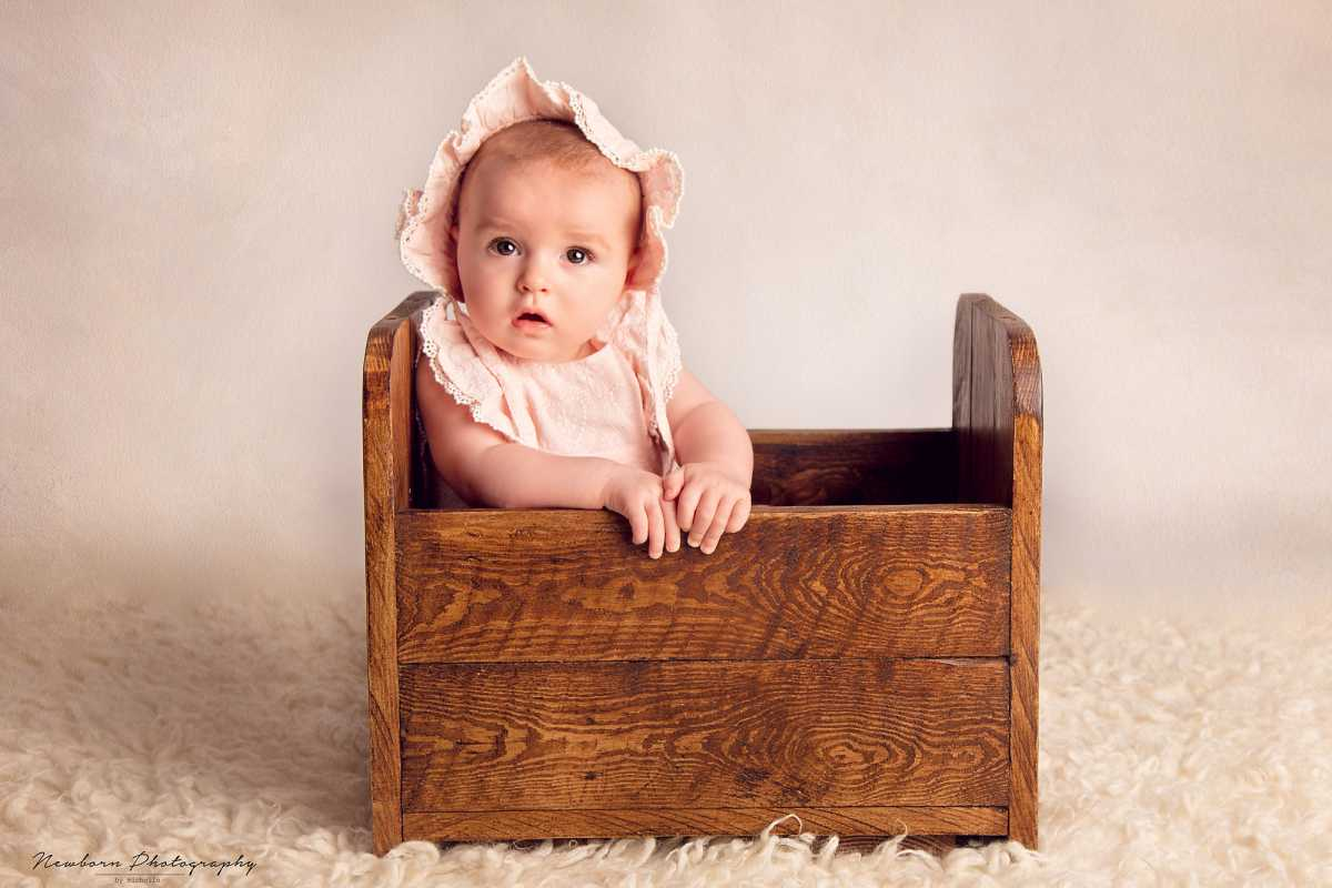 Six Months baby Photoshoot